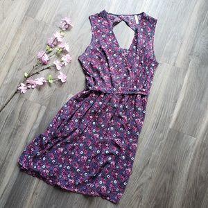 Xhilaration Floral Sleeveless Dress XL